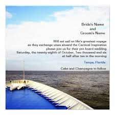 cruise wedding invitations personalized cruise ship invitations custominvitations4u