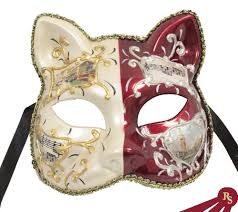 cat masquerade mask cat mask masquerade costume venetian masks