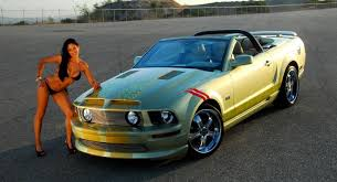Black And Lime Green Mustang Mustang Performance Parts Roush Saleen Parts Part 46