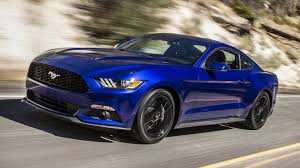 Blue And Black Mustang Ford Mustang Ecoboost 2015 Wallpapers And Hd Images Car Pixel