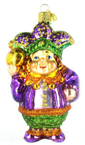 amazon com old world christmas mardi gras jester glass ornament