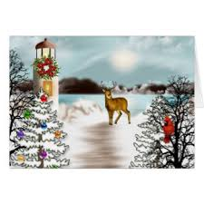 nautical christmas cards lighthouse christmas cards invitations greeting photo cards