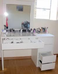 Ikea Hack Vanity Diy Makeup Vanity Desk Set Up Alex Ikea Hack Vanity
