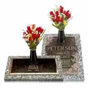 grave memorials grave markers upright cemetery standing monuments