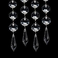Amazon Beaded Curtains Amazon Com Xcsource 30pcs Acrylic Crystal Clear Garland Hanging