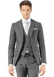 costume mariage homme gris costume 3 pièces gris moyen jean de sey costumes de mariage