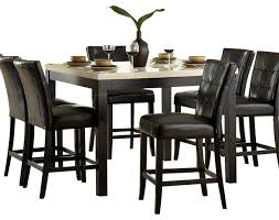 Homelegance Archstone  Piece Counter Height Dining Room Set With - Countertop dining room sets