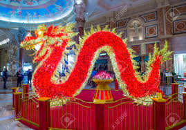 New Year Decorations 2015 by Las Vegas Feb 18 Chinese New Year Decorations At The Ceasars