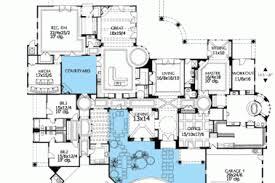 mediterranean floor plans with courtyard 3 mediterranean style courtyard house plans coastal contemporary