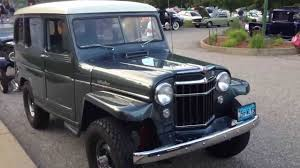 willys jeep truck for sale 1956 wyllis jeep station wagon 4x4 beautiful restoration youtube