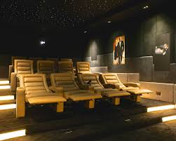Home Theater Ceiling Lighting Pangea Home Mode Other Metro Contemporary Home Theater Remodeling