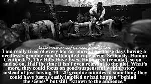 horror movie confessions
