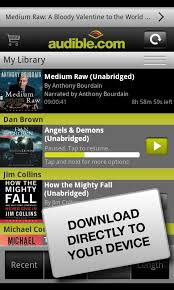 audible for android audible for android the best solution for lazy readers android