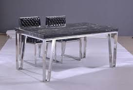 Steel Living Room Furniture Stainless Steel Dining Table Freedom To
