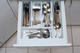 modern kitchen drawers free stock photo 8142 cutlery in an open kitchen drawer