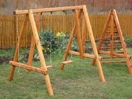 Backyard Swing Set Plans by Outdoor A Frame Swing Set Plans Swing Set Plans For Home Decor