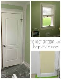 How To Clean Walls With Flat Paint by How To Paint A Room The Correct Order Of Operations Refresh Living