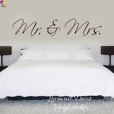 online get cheap wall stickers mr amp mrs aliexpress com mr mrs wall sticker bedroom sofa wedding room party king queen love quote wall decal