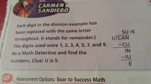 4th grade common core aligned math using letters not numbers