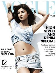 Beauty India Digital by Shilpa Shetty Vogue India June 2009 Vogue India Pinterest