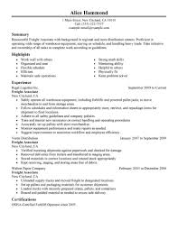 resume samples for warehouse best production freight associate resume example livecareer create my resume