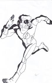 dc comics flash coloring pages coloring pages of superheroes the