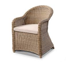 Plantation Full Round Wicker Dining Chair Bay Gallery Furniture - Plantation patio furniture