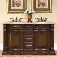 Walnut Bathroom Vanity by 60 U201d Perfecta Pa 177 Bathroom Vanity Double Sink Cabinet American
