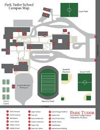 Map Indy Campus Map Park Tudor