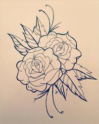 design flower rose drawing 20 rose drawings free psd ai eps format download free