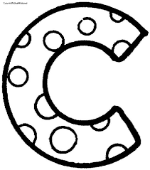 9 best images of polka dot letters printable f letter f coloring