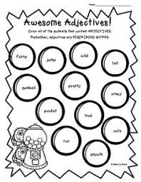 summer nouns verbs and adjectives sorting worksheet pack the