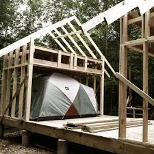 finally we begin u2014 stone tent architecture
