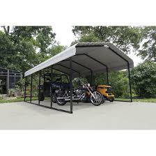 12 X 20 Canopy Tent by Arrow 12 X 20 Ft Carport Carports Arrow Sheds