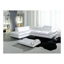 canape cuir blanc convertible canape cuir blanc convertible 100 images canapé cuir blanc