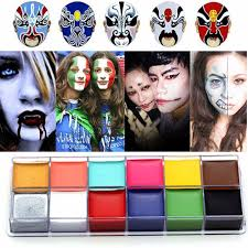 halloween body paint aliexpress com buy imagic professional halloween party face body