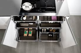 kitchen cabinet interiors snaidero kitchen hardware durable practical solutions for easy use