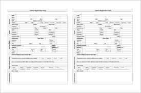 patient chart template u2013 10 free sample example format download