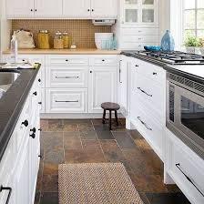 kitchen cabinet colors that hide dirt modern kitchen flooring ideas thefurniturehome slate