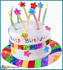glitter graphics images happy birthday greetings glitters