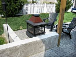 Outdoor Chimney Fireplace by Types Of Portable Outdoor Fireplaces Hgtv