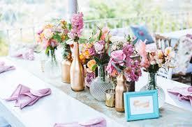 Vintage Backyard Wedding Ideas Eclectic Backyard Wedding Reception Decor Vintage Elements