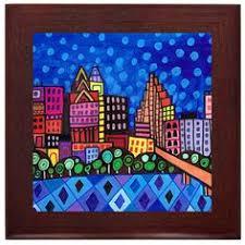 affenpinscher venta mexico today los angeles california city skyline folk art ceramic framed