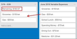 Template For Budgeting Money 17 Creative Ways To Use Trello And Organize Everything