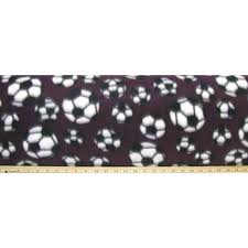maroon soccer balls fleece fabric hobby lobby 50842