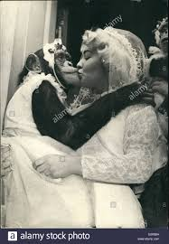 place to register for wedding oct 10 1958 chimps as bridesmaids at circus wedding the