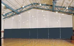 Basketball Curtains Construction Divider Curtains Porter Athletic