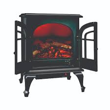 czfp5 ceramic electric fireplace stove fan forced heater black