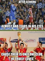 Fernando Torres Meme - respect fernando torres fansfoot you ll never laugh alone