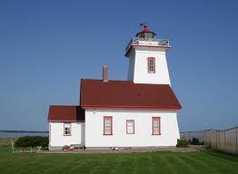 Wood Island Light Lighthouses Of Canada Eastern Prince Edward Island